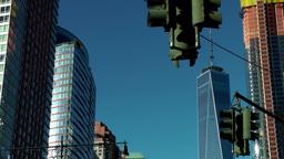 New York City 432 Manhattan financial district West Street world trade center Footage