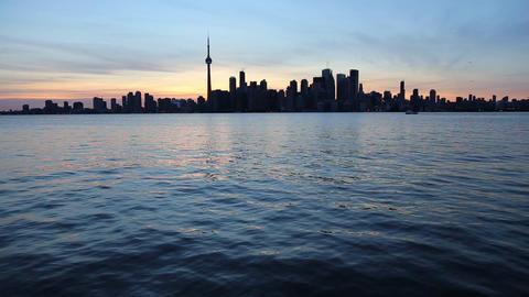 Toronto Skyline, Canada Footage