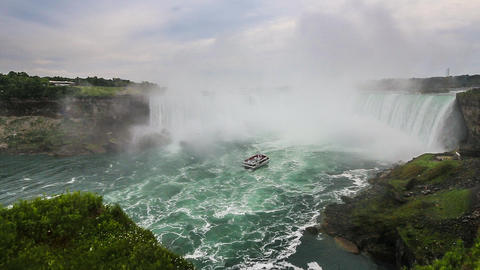 Niagara Falls - the Canadian Falls aka Horseshoe Falls Footage