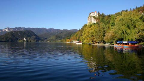 Lake Bled, Slovenia Footage