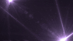 Abstract Violet Background With Rays Sparkles CG動画素材