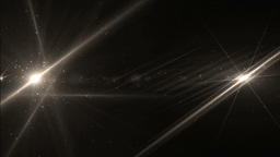 Abstract Gold Background With Rays Sparkles Animation