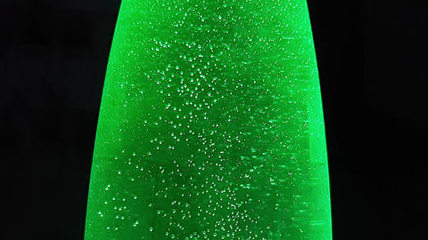 Mineral Water Sparkling With Bubbles Footage