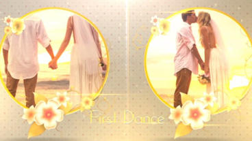 Spring Wedding Slideshow After Effects Project