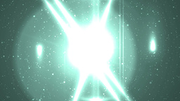 Abstract Neon Background With Rays Sparkles Animation