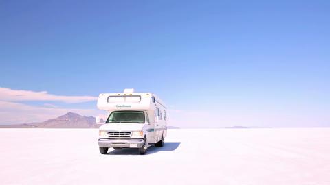 Bonneville Salt Flats Live Action