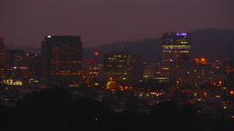 glendale night skyline Footage