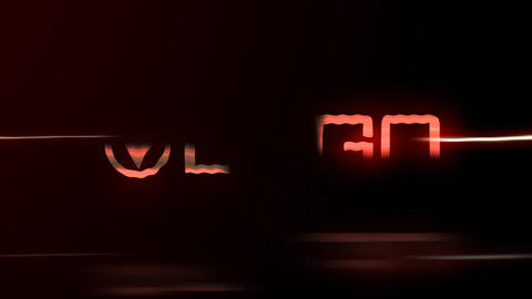 Speed Line Glow Logo Reveal After Effects Template