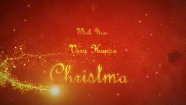 Christmas Greetings After Effects Project