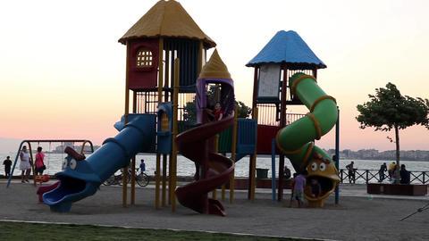 Park and Children Footage