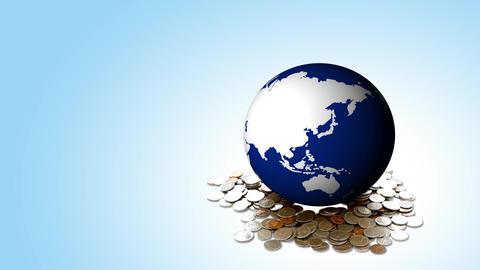 Economy Concept Background, Live Action