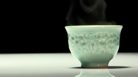 Korean Traditional Tea Concept Props Footage