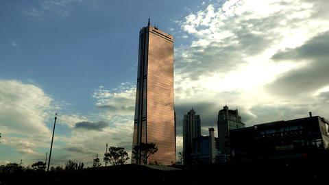 Cityscape of Seoul, Korea Footage