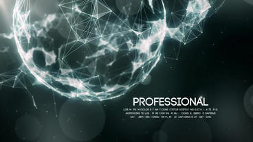 Space Plexus Titles Plantilla de After Effects