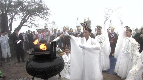 Traditional dance of Korea Live Action