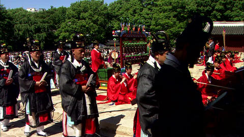 Traditional Korean Palace Changdeokgung in Seoul 영상물
