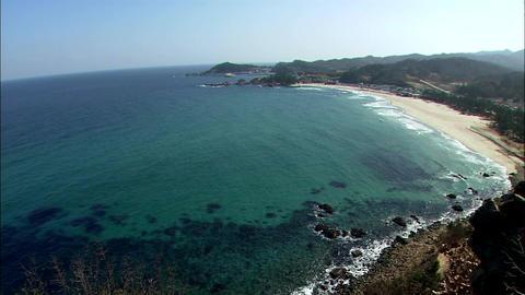 Landscape of Samcheok-si, Gangwon-do, Korea Footage