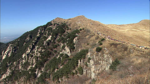 Landscape of Changnyeong-gun, Gyeongsangnam-do, Korea Live Action