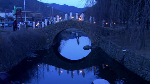 Landscape of Changnyeong-gun, Gyeongsangnam-do, Korea 영상물