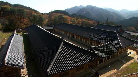 Haeinsa Temple in Hapcheon-gun, Gyeongsangnam-do, Korea Footage