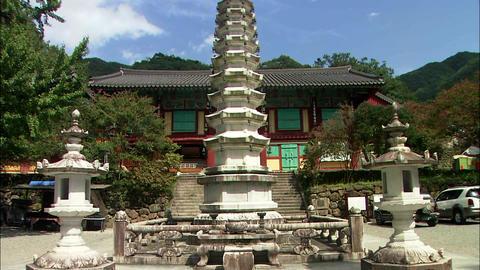 Gwangyang-si Jeollanam-do Province in Korea Footage
