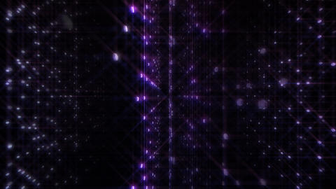 LED Light Space Hex 4p C 4 HD Stock Video Footage