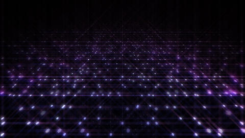 LED Light Space Hex 4q C 4 HD Stock Video Footage