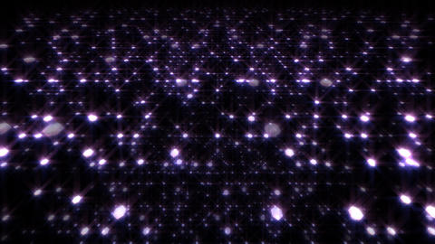 LED Light Space Hex 4t A HD Stock Video Footage