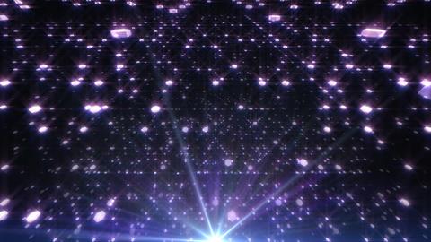 LED Light Space Hex 4t Av HD Stock Video Footage