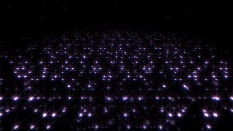 LED Light Space Hex 4t E HD Stock Video Footage