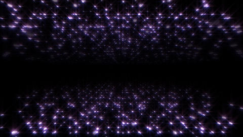 LED Light Space Hex 4u A HD Stock Video Footage