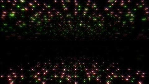 LED Light Space Hex 4u B 2 HD Stock Video Footage