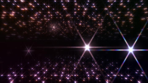 LED Light Space Hex 4u C 2f HD Stock Video Footage