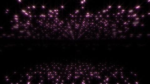 LED Light Space Hex 4u C 3 HD Stock Video Footage