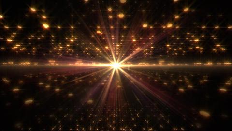 LED Light Space Hex 4u Dv HD Stock Video Footage