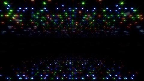 LED Light Space Hex 4u E 2 HD Stock Video Footage