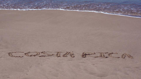 Luxury Beach Adventure in Costa Rica Stock Video Footage