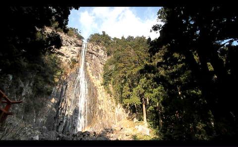 nachi falls-1 Stock Video Footage
