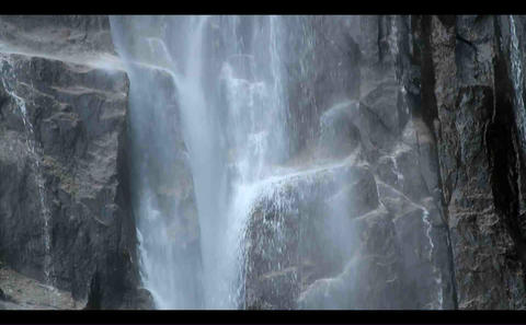 nachi falls 3 Stock Video Footage