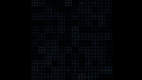 virtual computer electric circuit board,tech power lines grid Animation