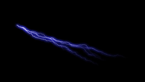 HD Thunder Animation - Blue Animation