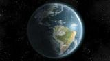 Earth (High End) Orbiting Day Night Lights. Loop. CGI HD Animation
