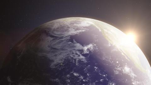 Earth6 - video background loop Stock Video Footage