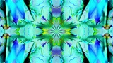 Kaleidoscope 3 - Ornamental Colorful Kaleidoscopic Video Background Loop stock footage
