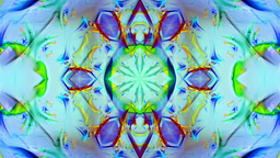 Kaleidoscope 3 - Ornamental Colorful Kaleidoscopic Video Background Loop Animation