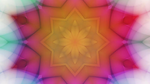 Kailey - Colorful Kaleidoscopic Video Background Loop Stock Video Footage