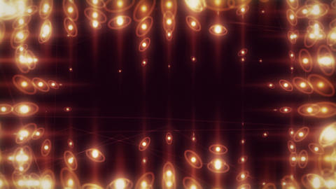 Revobulb - Frame Of Abstract Lights Video Background Loop Stock Video Footage