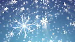 Snowy 1 - Snow / Christmas Video Background Loop Stock Video Footage