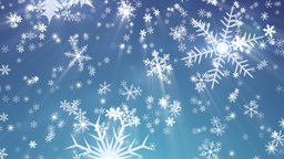 Snowy 1 - Snow / Christmas Video Background Loop Stock Video Footage