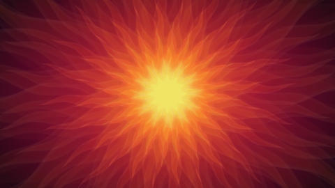 Sunsun - Stylized Sun Video Background Loop Stock Video Footage